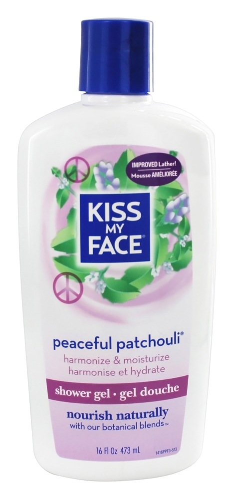Kiss My Face - Shower Gel Peaceful Patchouli - 16 oz.
