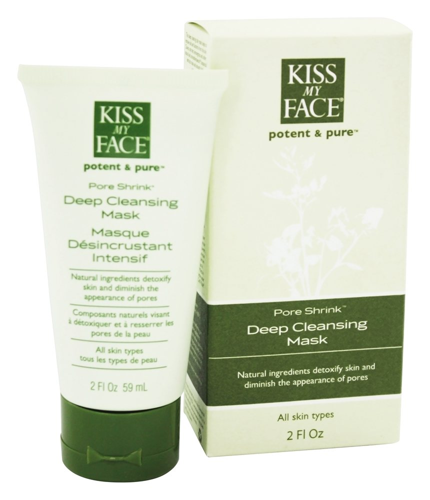 Kiss My Face - Potent & Pure Pore Shrink Deep Cleansing Mask - 2 oz.
