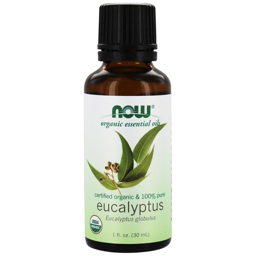 NOW Foods - Eucalyptus Oil Organic - 1 oz.