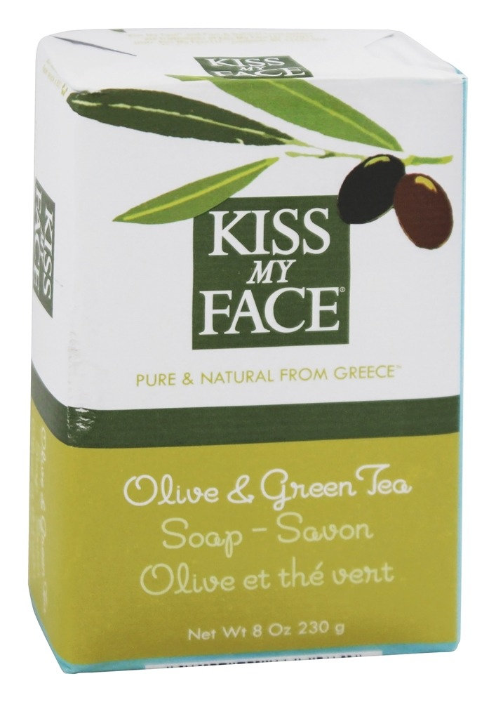 Kiss My Face - Bar Soap Olive & Green Tea - 8 oz.
