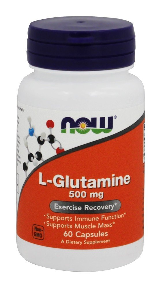 NOW Foods - L-Glutamine Free Form 500 mg. - 60 Capsules