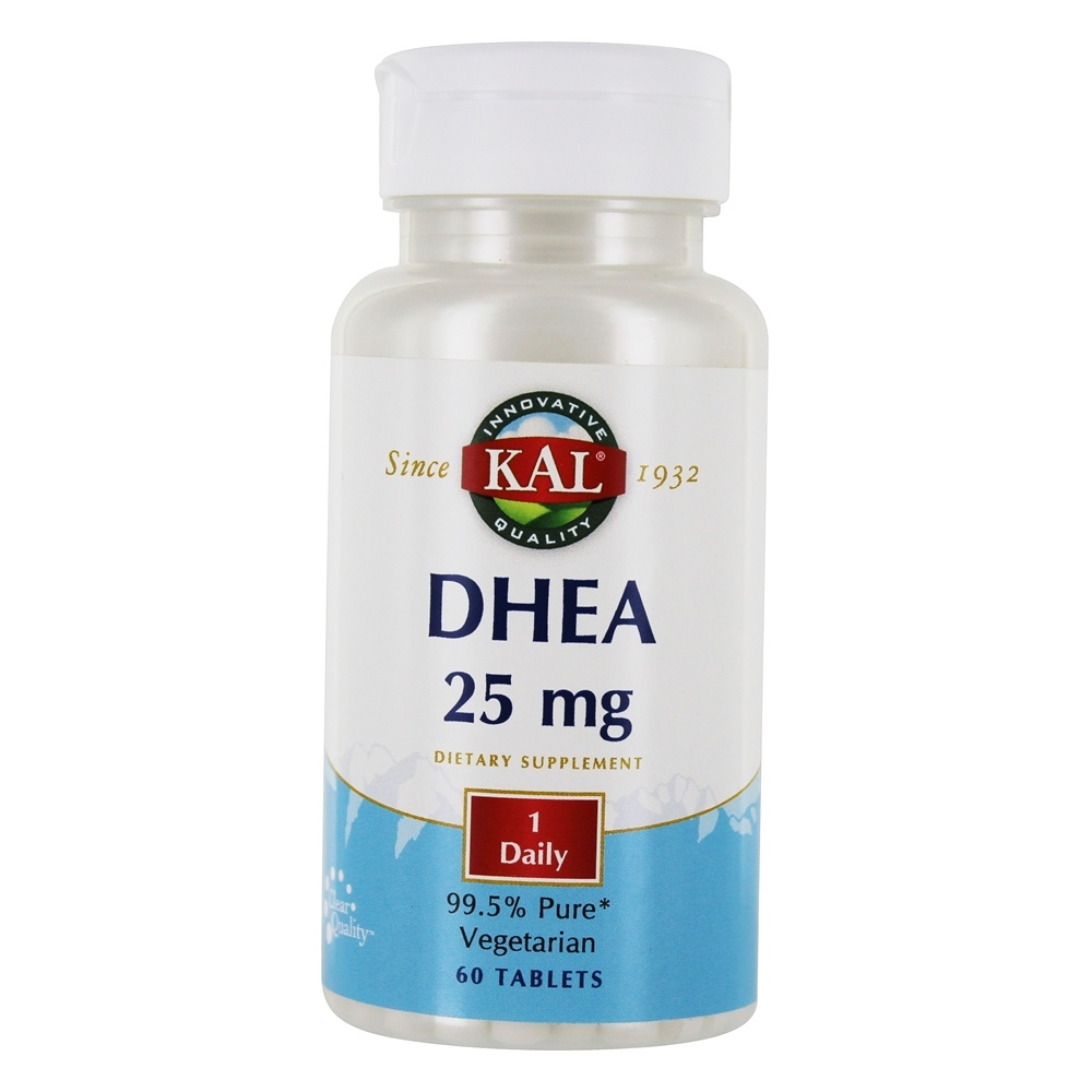 Kal - DHEA 25 mg. - 60 Tablets