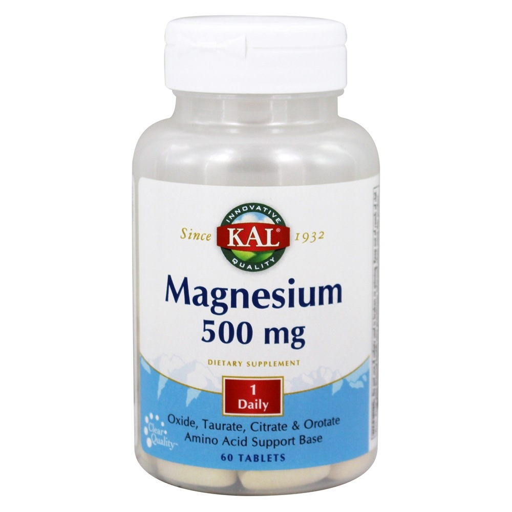 Kal - Magnesium 500 mg. - 60 Tablets