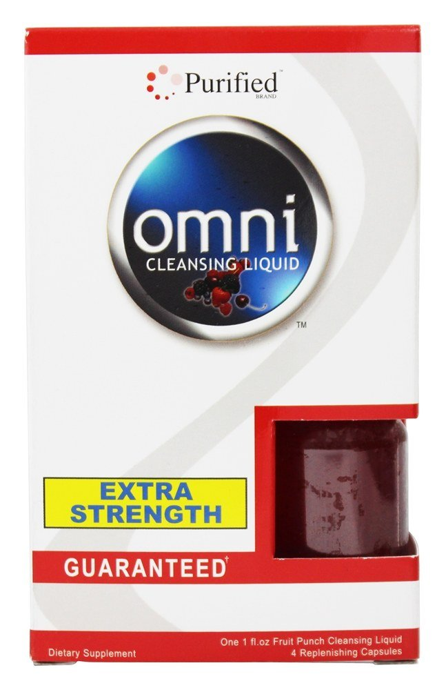 Purified Brand - Omni Cleansing Liquid Extra Strength Fruit Punch Flavor - 1 Pack