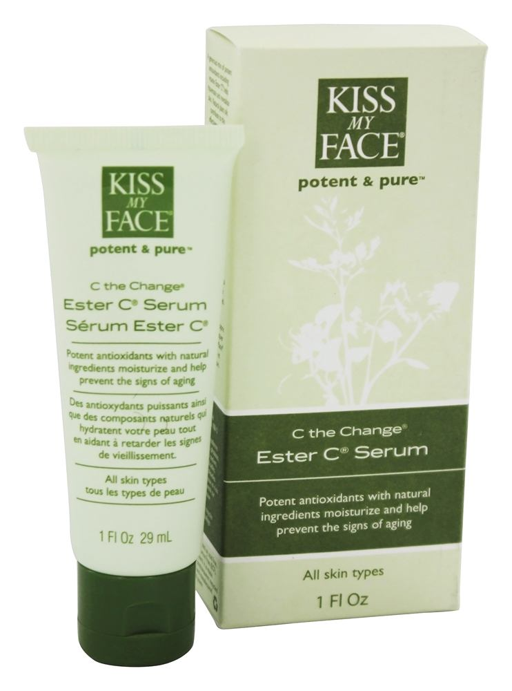 Kiss My Face - Potent & Pure C the Change Ester C Serum - 1 oz.