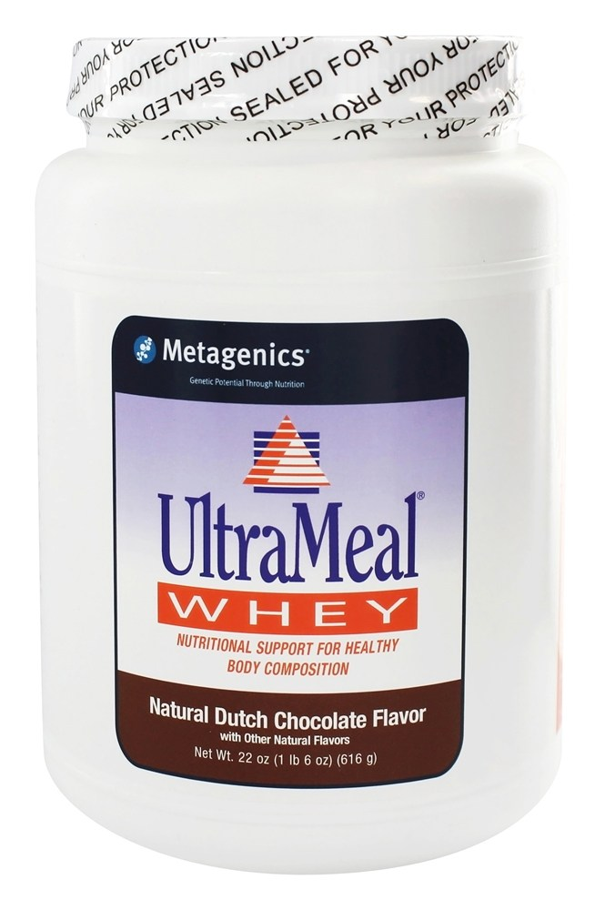 Metagenics - UltraMeal Whey Natural Dutch Chocolate - 22 oz.
