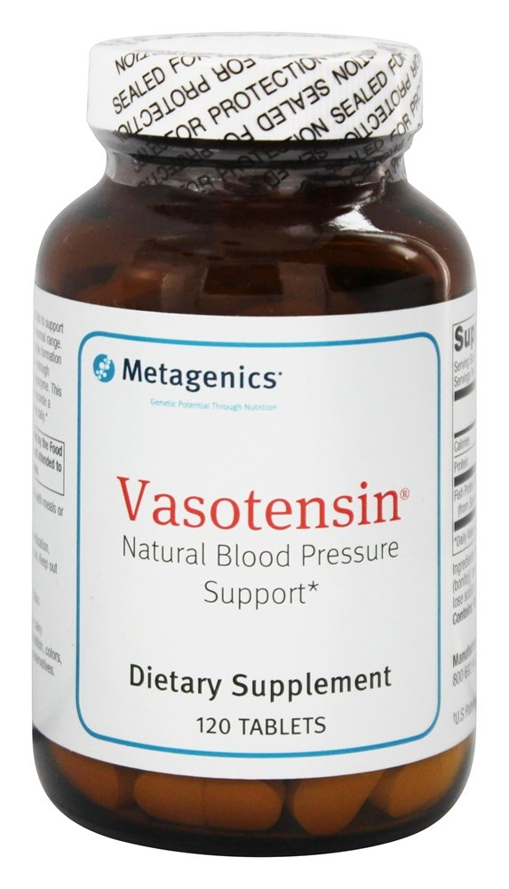 Metagenics - Vasotensin - Natural Blood Pressure Support - 120 Tablets