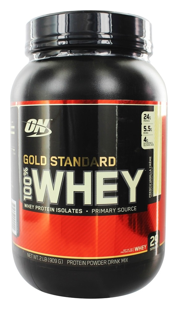 Optimum Nutrition - 100% Whey Gold Standard Protein French Vanilla Creme - 2 lbs.