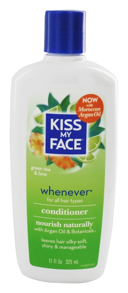 Kiss My Face - Conditioner Whenever Everyday Use Green Tea & Lime - 11 oz.