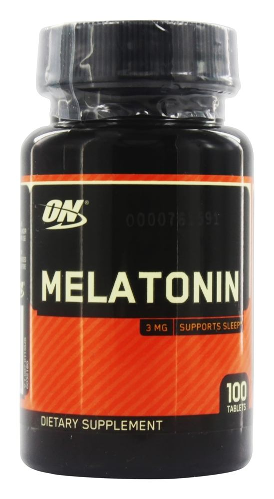 Optimum Nutrition - Melatonin 3 mg. - 100 Tablets