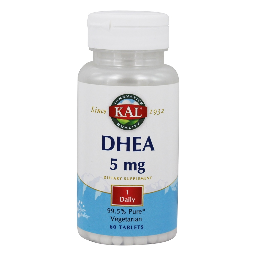 Kal - DHEA 5 mg. - 60 Tablets