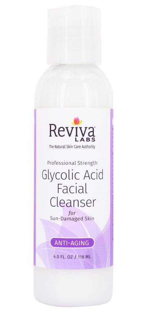 Reviva Labs - Glycolic Acid Facial Cleanser - 4 oz.
