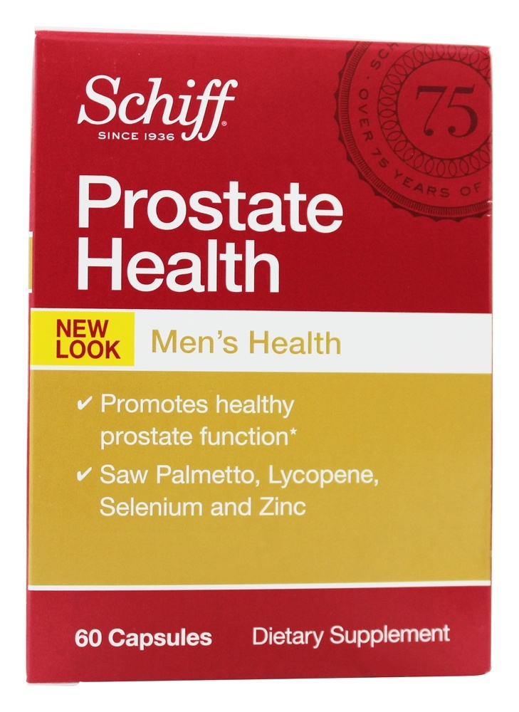 Schiff - Prostate Health - 60 Tablets