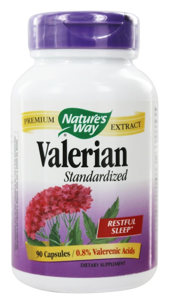 Nature's Way - Valerian Standardized Extract - 90 Capsules
