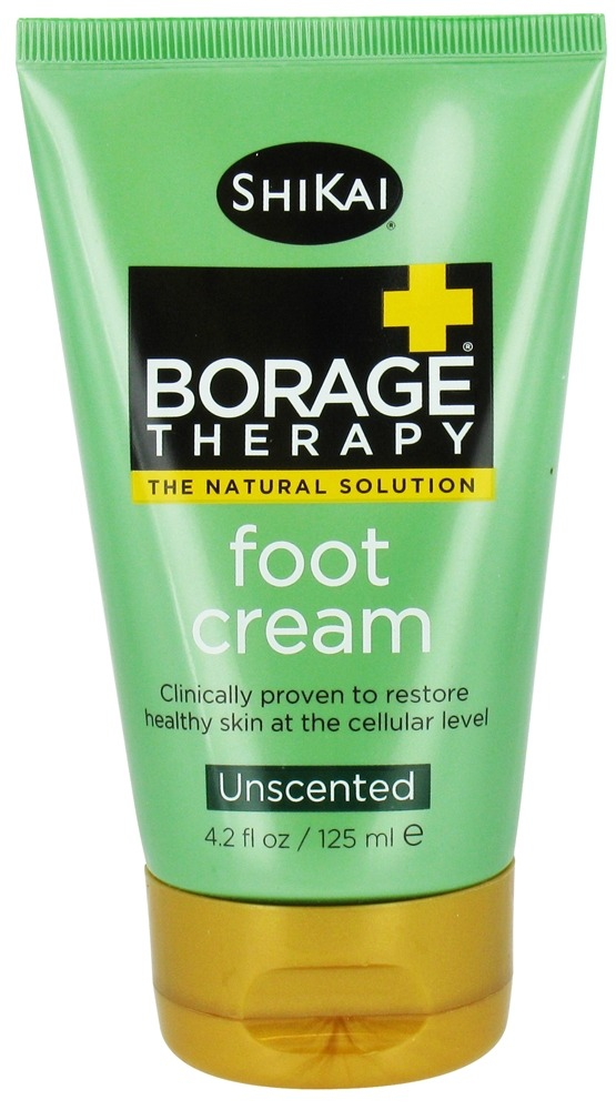 Shikai - Borage Dry Skin Therapy Foot Cream - 4.2 oz.