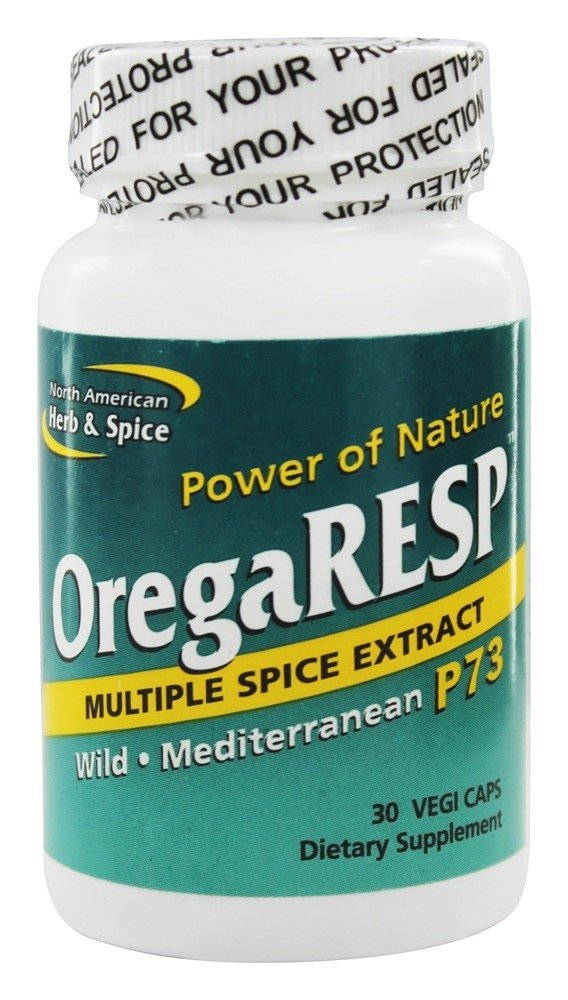 North American Herb & Spice - OregaRESP Respiratory Support P73 450 mg. - 30 Vegetarian Capsules Formerly Orgegacyn