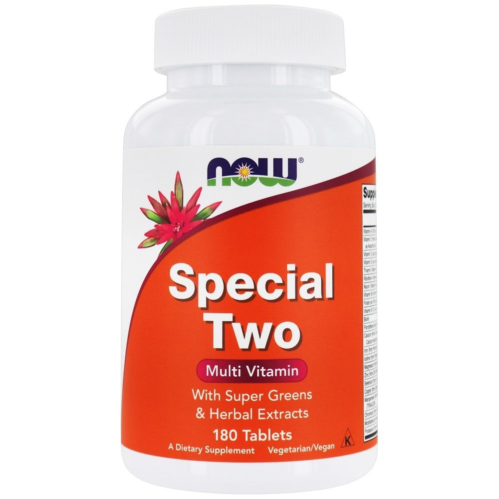 NOW Foods - Special Two High Potency Multiple Vitamin - 180 Tablets