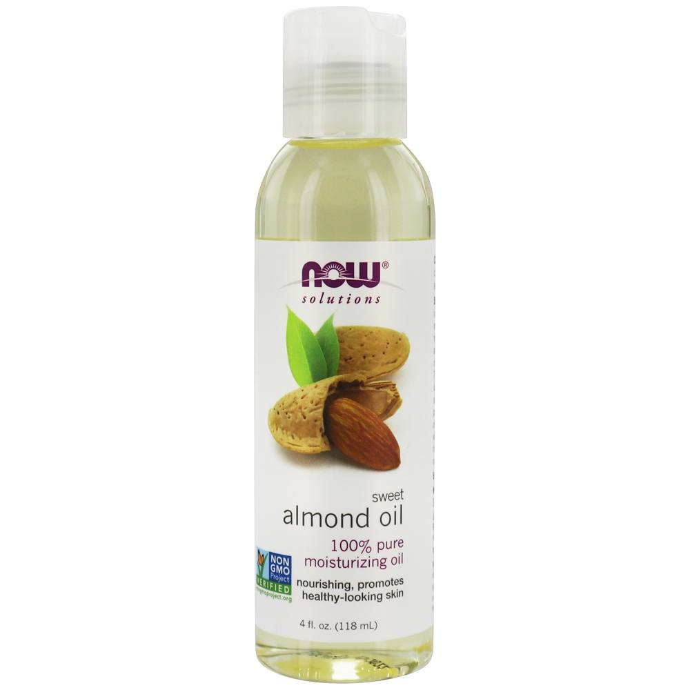 NOW Foods - Sweet Almond Oil - 4 oz.