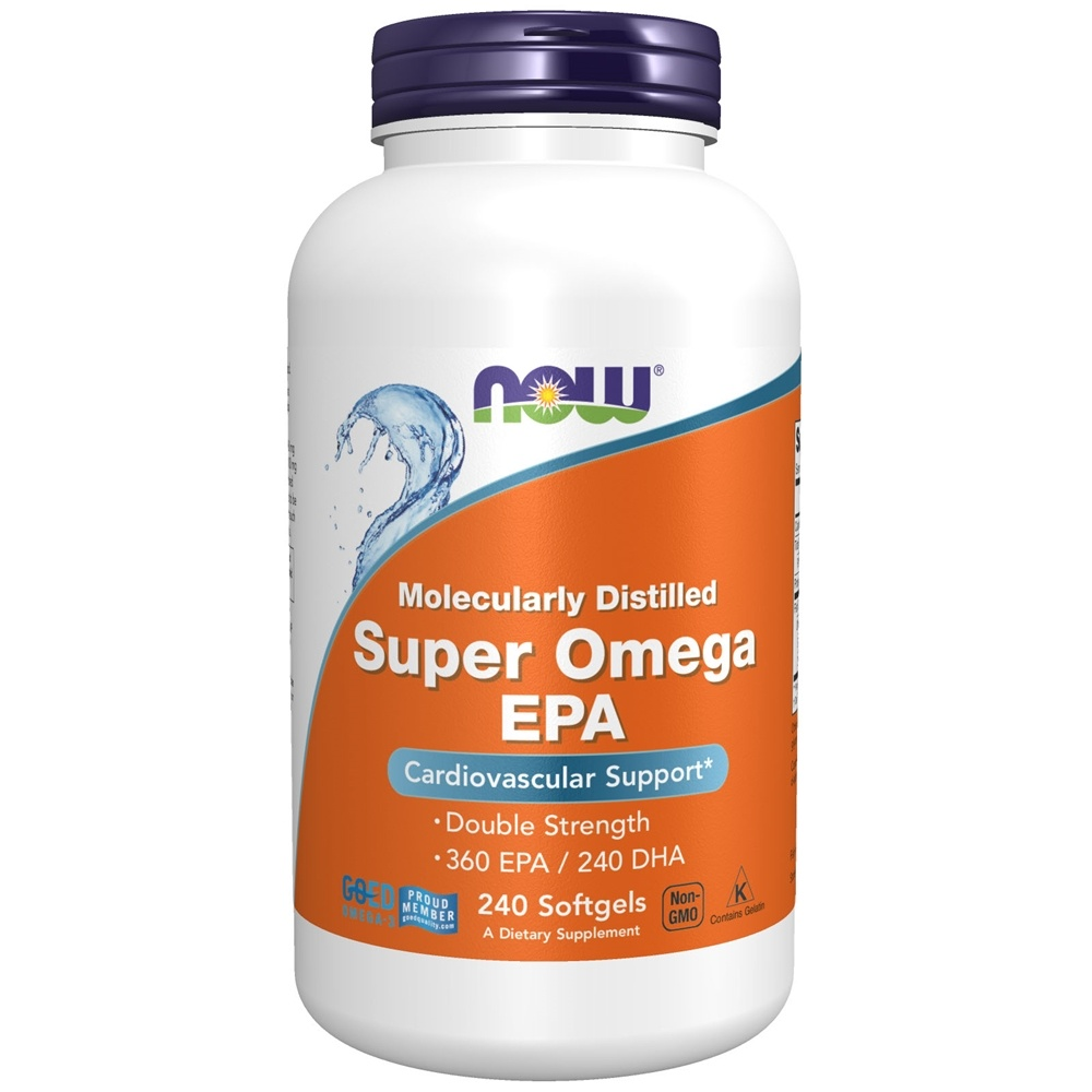 NOW Foods - Super EPA Double Strength - 240 Softgels