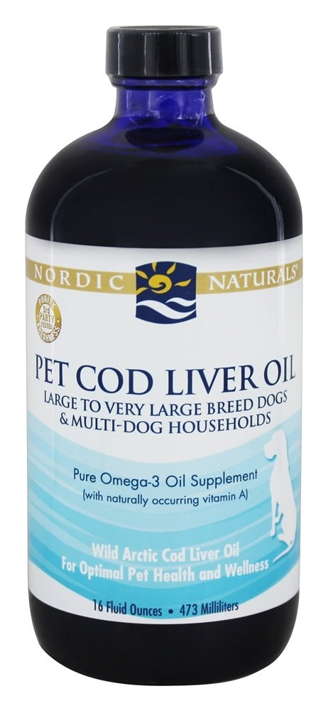 Nordic Naturals - Pet Cod Liver Oil For Dogs & Cats - 16 oz.