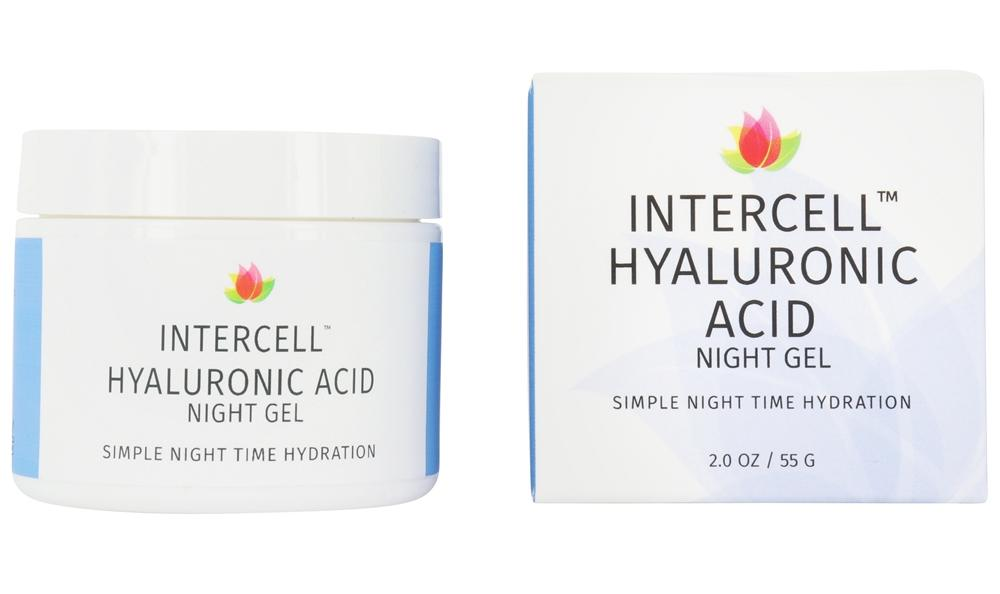 Reviva Labs - Intercell Night Gel with Hyaluronic Acid - 1.25 oz.