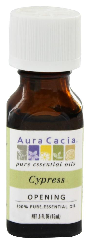 Aura Cacia - Essential Oil Opening Cypress - 0.5 oz.