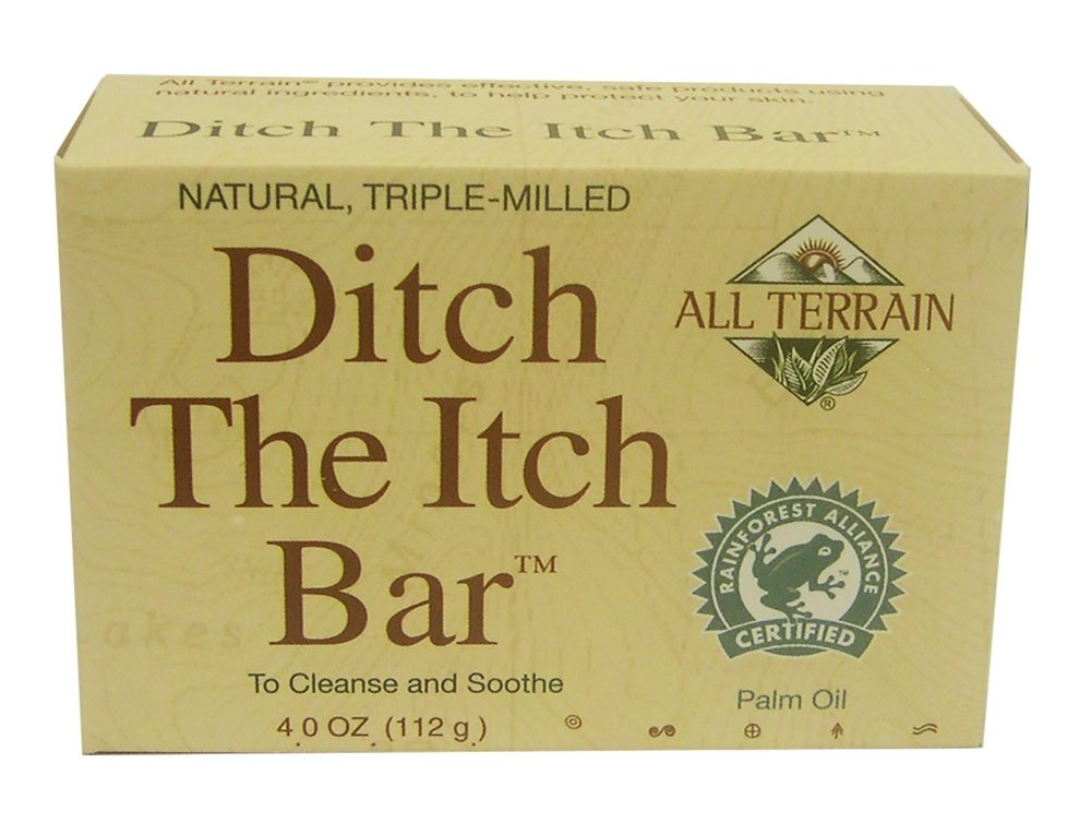 All Terrain - Ditch the Itch Skin Relief Bar Soap - 4 oz.