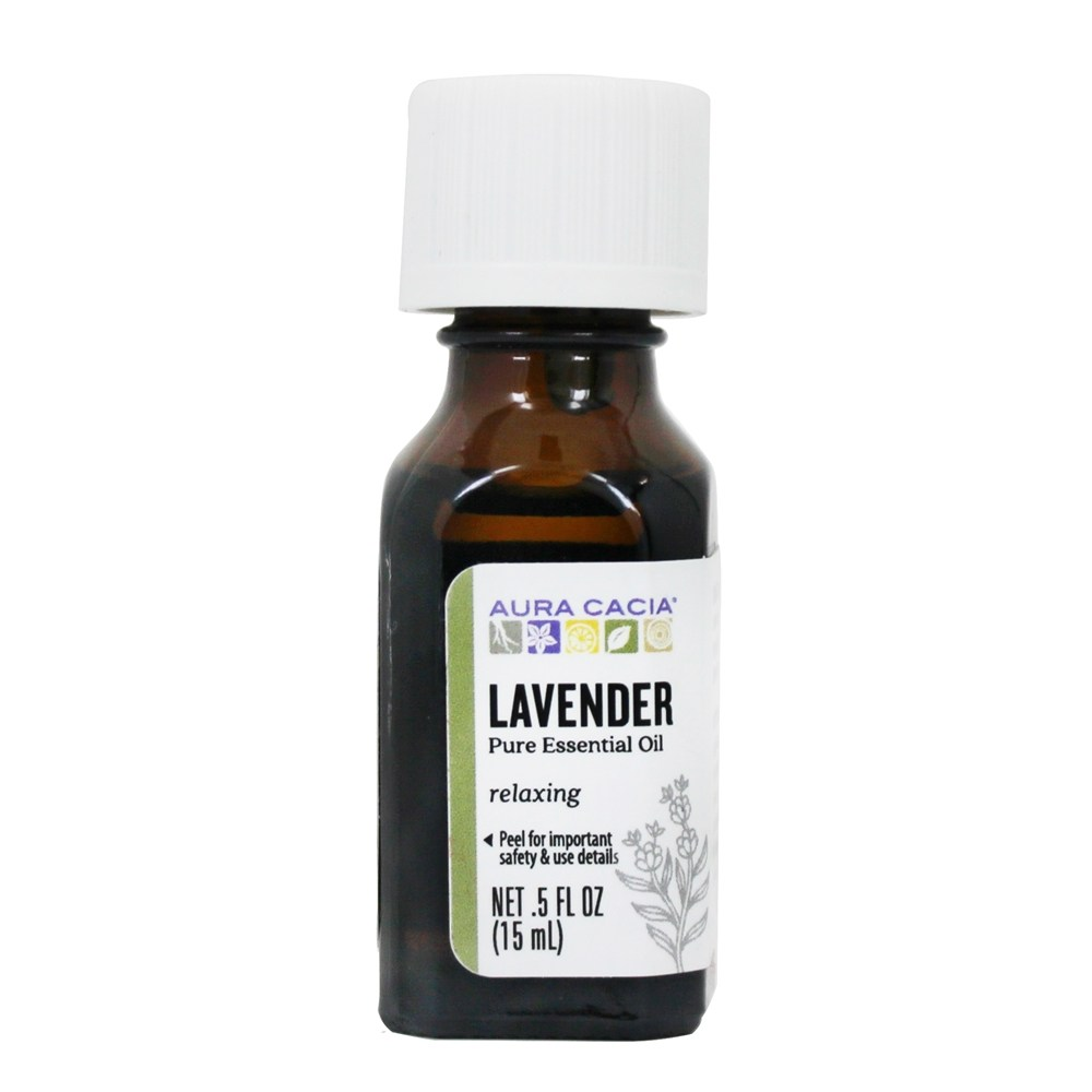 Aura Cacia - Essential Oil Calming Lavender - 0.5 oz.