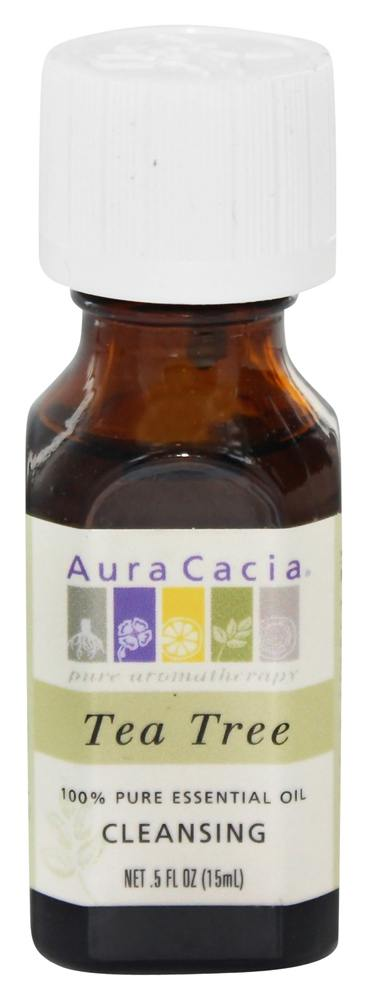 Aura Cacia - Essential Oil Cleansing Tea Tree - 0.5 oz.