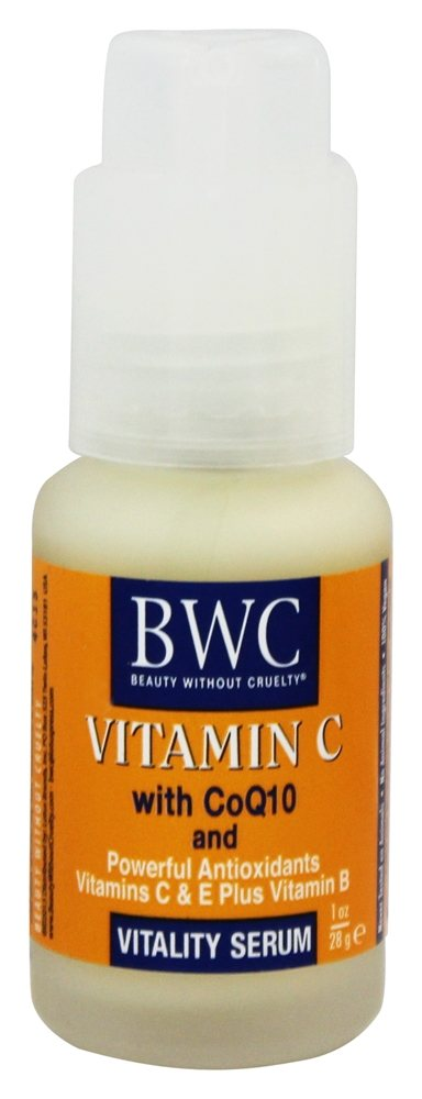 Beauty Without Cruelty - Vitamin C CoQ10 Vitality Serum - 1 oz.