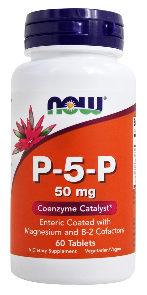 NOW Foods - P-5-P Vegetarian 50 mg. - 60 Tablets