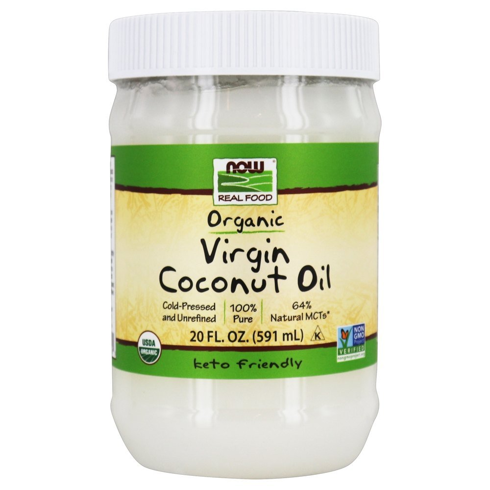 NOW Foods - Virgin Coconut Oil Organic - 20 oz.