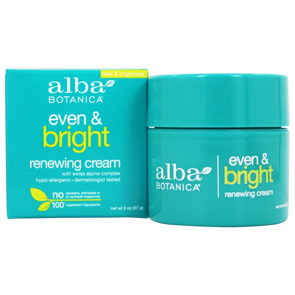Alba Botanica - Sea Plus Renewal Night Cream - 2 oz.