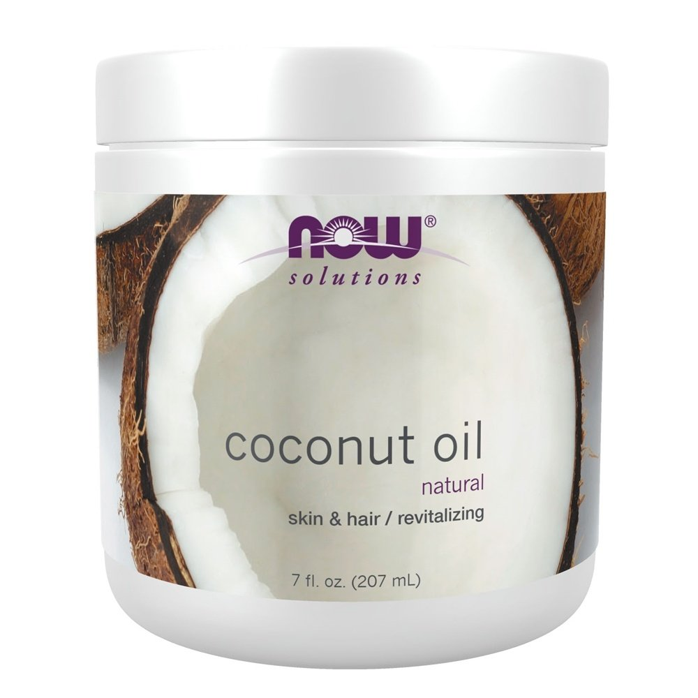 NOW Foods - Coconut Oil 100% Natural - 7 oz.