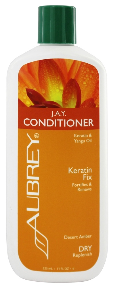 Aubrey Organics - Conditioner J.A.Y. Keratin Fix Desert Amber - 11 oz.