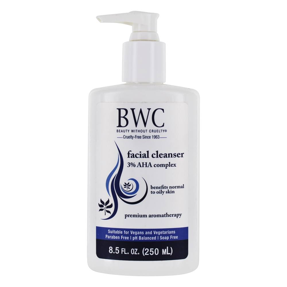Beauty Without Cruelty - Facial Cleanser 3% AHA - 8.5 oz.