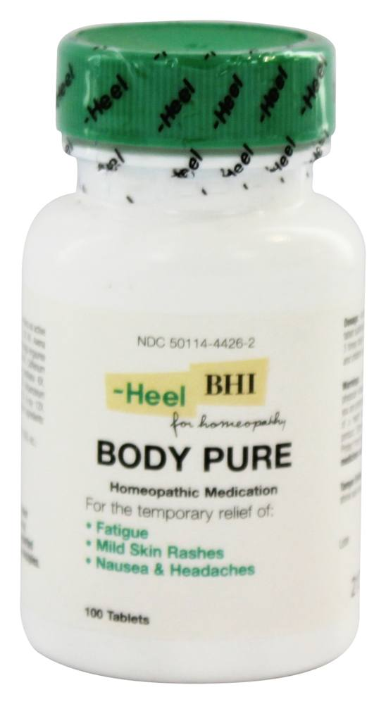BHI/Heel - Body Pure - 100 Tablets