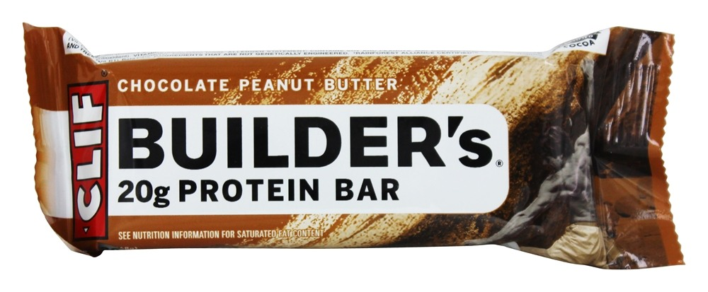 Clif Bar - Builder's Protein Bar Chocolate Peanut Butter - 2.4 oz.