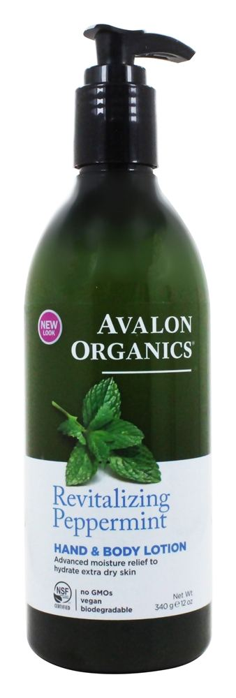 Avalon Organics - Hand & Body Lotion Peppermint - 12 oz.