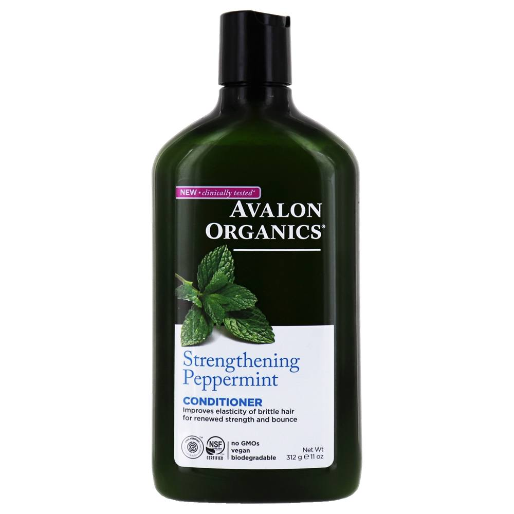 Avalon Organics - Conditioner Strengthening Peppermint - 11 oz. (Formerly Revitalizing)