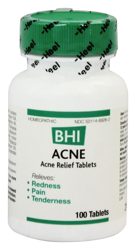 BHI/Heel - Acne - 100 Tablets Formerly Inflammation