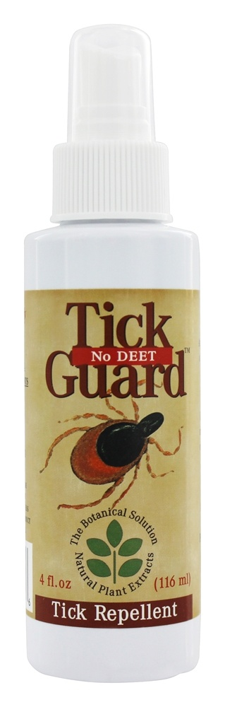 Botanical Solutions - Tick Guard No Deet Tick Repellent Spray - 4 oz.