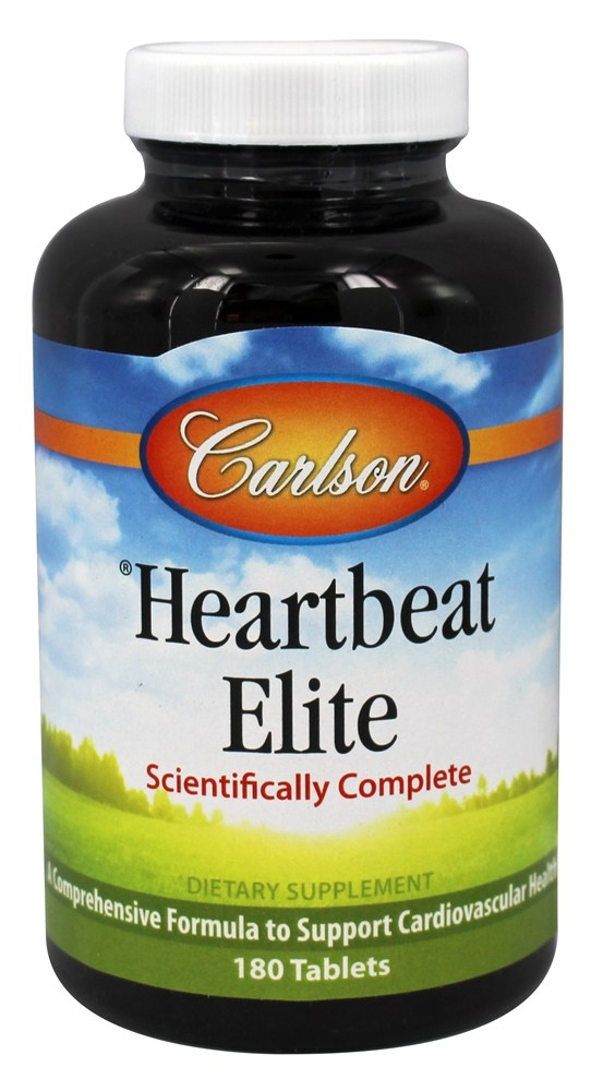 Carlson Labs - Heartbeat Elite - 180 Tablets
