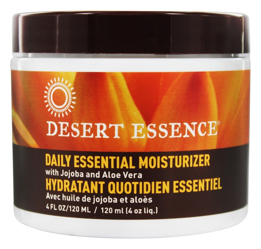 Desert Essence - Daily Essential Moisturizer with Jojoba and Aloe Vera - 4 oz. LUCKY PRICE