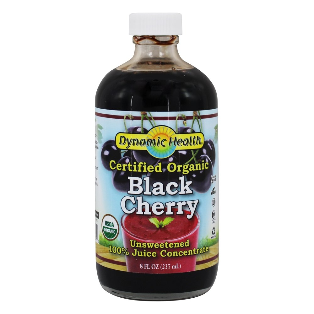 Dynamic Health - Juice Concentrate 100% Pure Black Cherry - 8 oz.