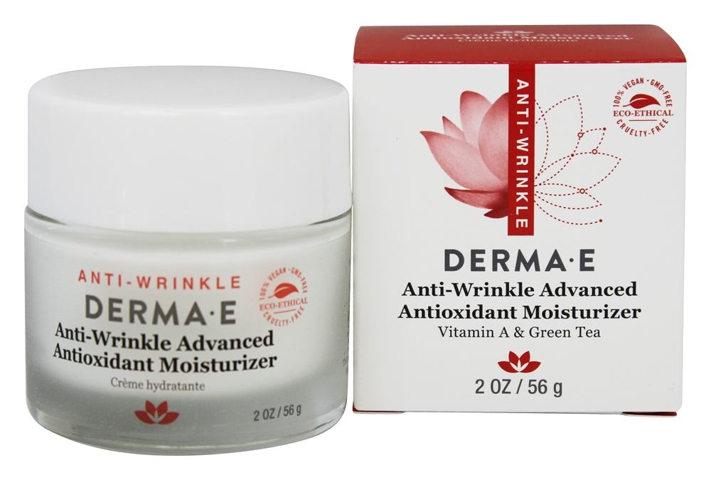 Derma-E - Refining Vitamin A And Green Tea Moisturizer Creme - 2 oz. (formerly Retinol)