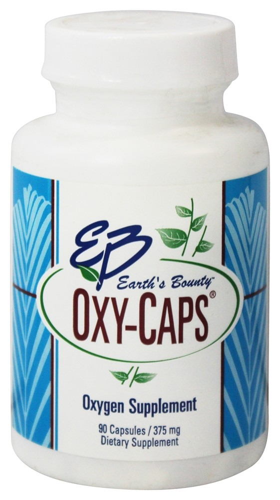 Earth's Bounty - Oxy-Caps Oxygen Supplement 375 mg. - 90 Capsules