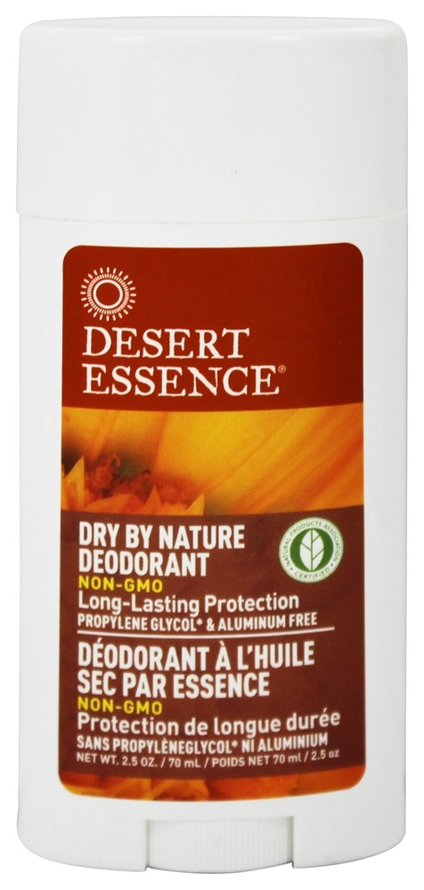 Desert Essence - Dry By Nature Deodorant With Chamomile & Calendula - 2.5 oz. LUCKY PRICE