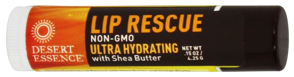 Desert Essence - Lip Rescue with Shea Butter - 0.15 oz. LUCKY PRICE