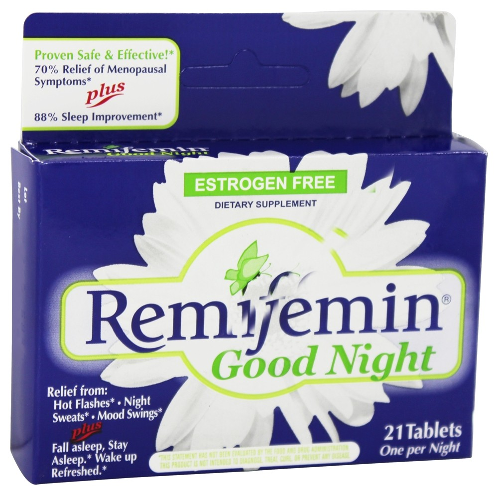 Enzymatic Therapy - Remifemin Good Night - 21 Tablets